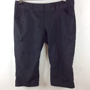Columbia Omni-Shade Capri Pants Hiking Cargo